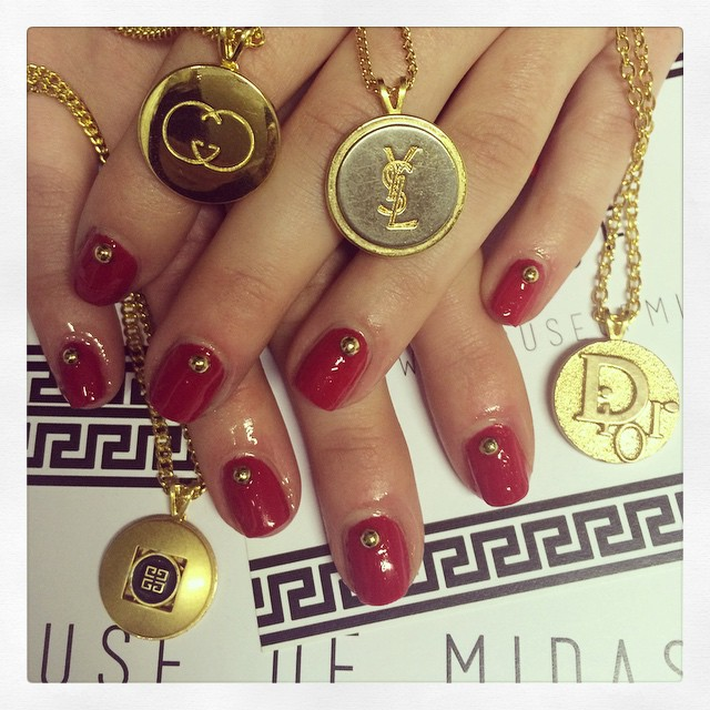 Nails for Midas Touch Jewellery
