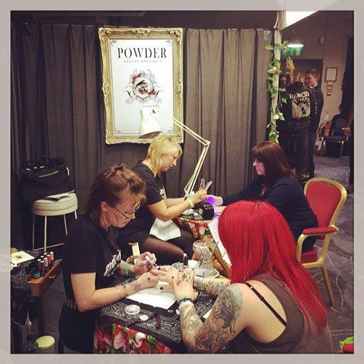 Pop Up Nail Bar At The Brighton Tattoo Convention