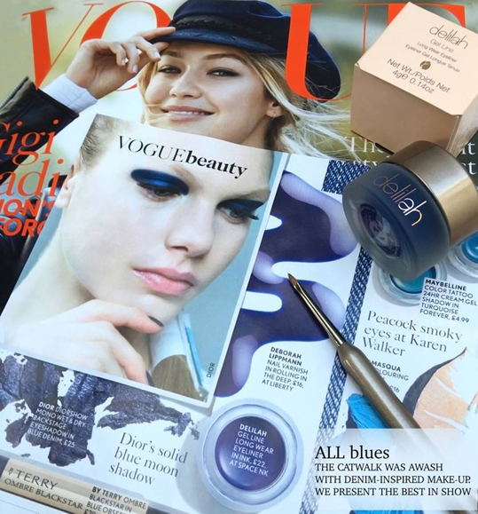 delilah Cosmetics Now at Powder. As seen in Vogue and Sunday Times. Beautiful British Make Up.